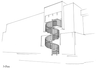 Pen version of the staircase to be used.